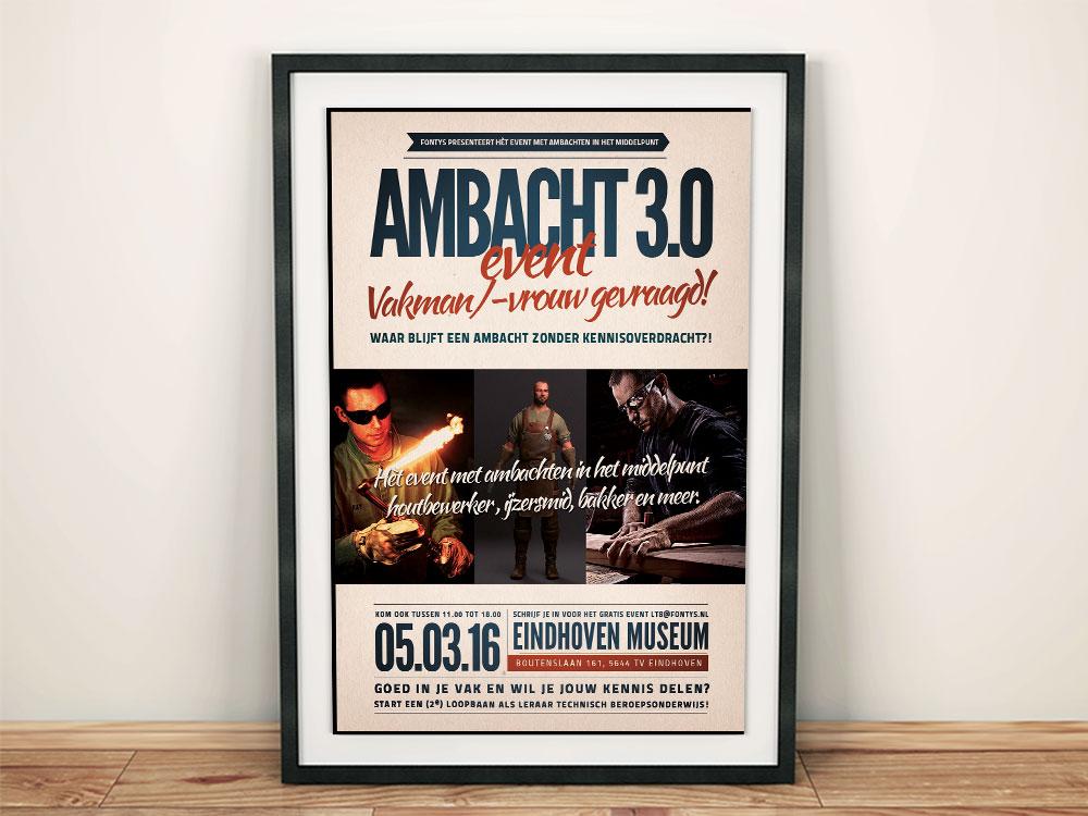 Poster ontwerpen laten maken door grafisch vormgever Breda