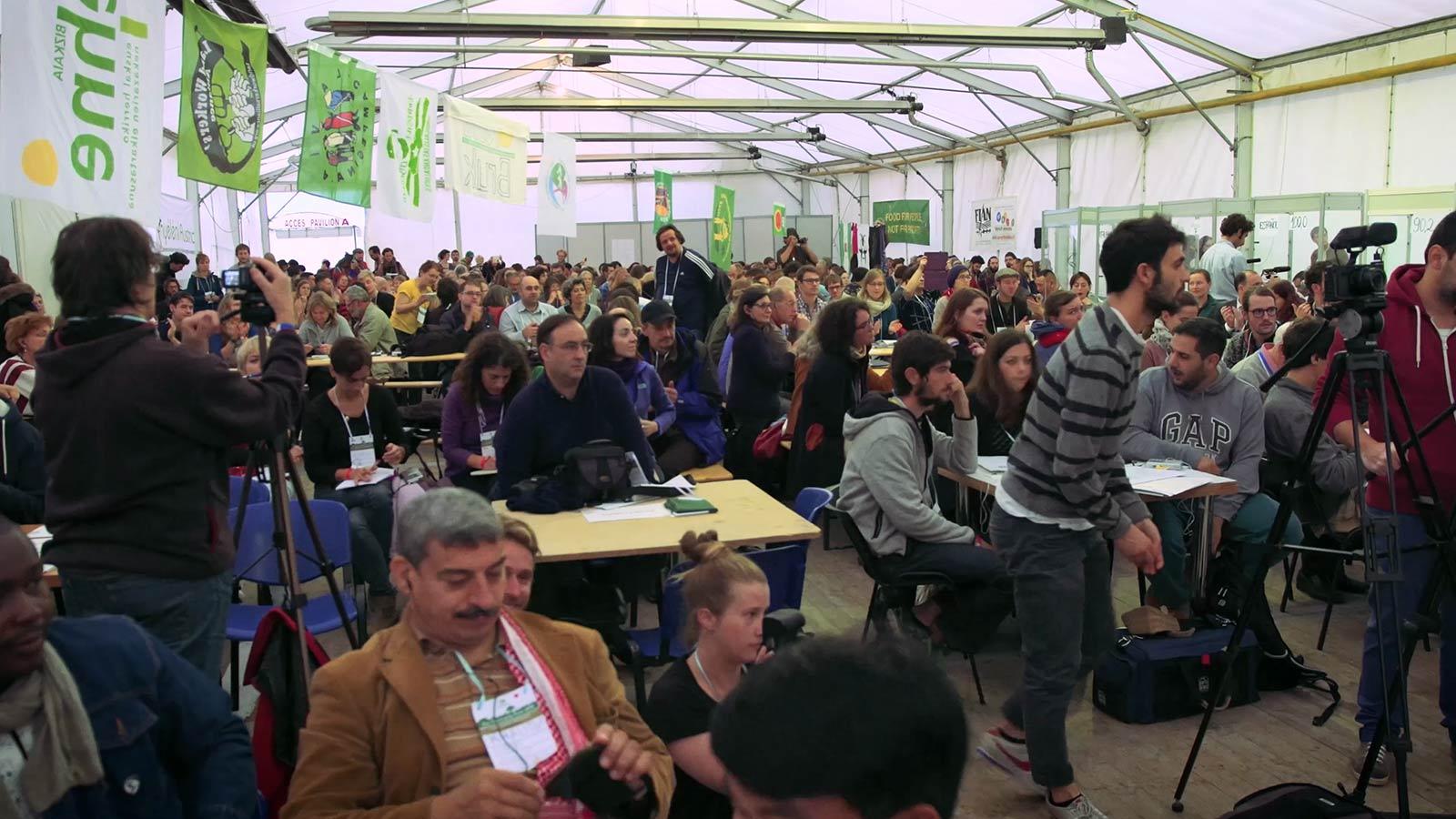 evenement film laten maken in grote zaal