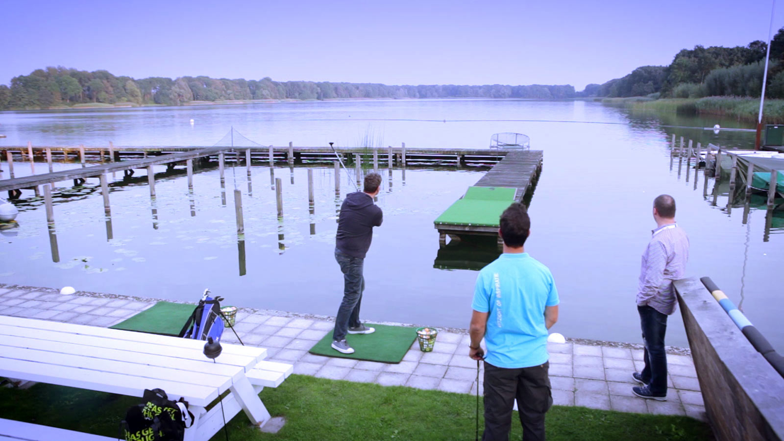 aftermovie Golf evenement laten maken
